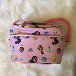 DISNEY PRINCESS PINK LUNCH BAG BOX TOTE